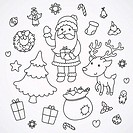 Christmas and New Year doodles