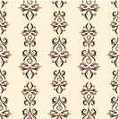 Thin line damask pattern