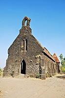 Abondoned Church On Purandar fort,Purandar,Poona,Mahrshtra,India.