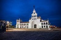 Hermitage of El Rocio, Huelva province, Andalusia, Spain