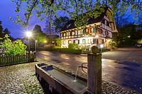 Medieval town Allschwil, Basel, Canton Basel-Landschaft, Switzerland.