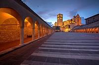 Basilica of San Francesco d´Assisi, Assisi, Italy.