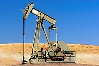 Horsehead pump oil well USA.