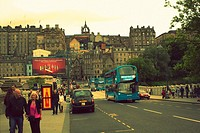 Waverley Bridge, Edinburgh, Scotland