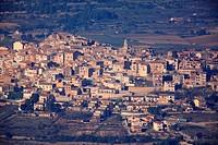 Horta de San Joan village. Els Ports. Tarragona.