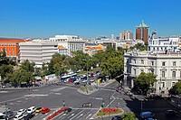 Paseo de la Castellana, Madrid, spain