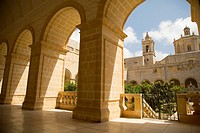 The Church Saint Dominic in Rabat, Malta.