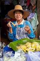 Maeklong Railway Market, Thailand.