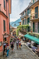 At the old town of Bellagio at Lake Como, Lombardy, Italy.