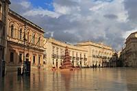 Syracuse, Sicily, Italy.