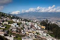 View of Capital Quito, Ecuador.