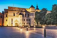 The Palace of the Grand Dukes of Lithuania (Lithuanian: Lietuvos Didziosios Kunigaikstystes valdovu Rumai Vilniaus zemutinÄ—je pilyje) was the residen...