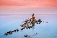 The reef of the sirens is within the Cabo de Gata Natural Park, Nijar, Almería. The reef is a set of volcanic vents that in ancient times was so popul...