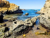 Glass Beach is a beach in MacKerricher State Park near Fort Bragg, California that is abundant in sea glass created from years of dumping garbage into...