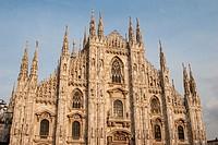 Duomo, Milan, Lombardy, Italy.