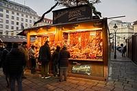 Europe, Austria, Vienna, Christmas market