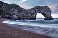 Durdle Door, Lulworth, Jurassic Coast, Dorset, England, UK.