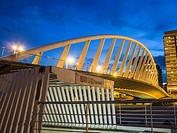 Puente de la Exposición bridge and subway station, Valencia, Spain