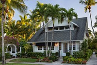 Dupont family cottage in Naples, Florida, USA.