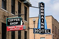 The Lorraine Motel, Memphis, Tennessee, USA. The former Lorraine Motel, where Martin Luther King Jr. was murdered in April 1968, now houses the Nation...