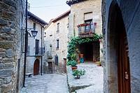 Sos del Rey Católico, Aragon, Spain.