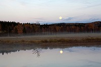 Evening scenery, Valtimo Finland.