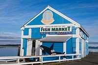 Fish Market on the Sidney waterfront.