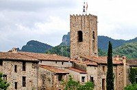 Santa Pau, village and municipality in the province of Girona, Catalonia, Spain