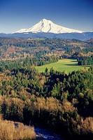 Mt Hood, Jonsrud Viewpoint, Sandy, Oregon.