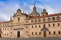 """College Nuestra Señora de la Antigua - Escolapios (also called """"""""El Escorial gallego""""""""), Monforte de Lemos, Lugo province, Region of Galicia, Spain, E..."""