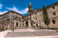 Museum of the Galician People (old Convent of San Domingos de Bonaval), Santiago de Compostela, La Coruña province, Region of Galicia, Spain, Europe.