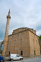 Xhamia e Sulltanit, Sultan Mehmet Fatih Mosque, the great mosque, Pristina, Kosovo.