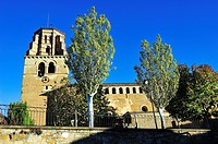 Parish church of Saint Martin, XII-XVIth centuries. Sieso, Huesca province, Aragon, Spain