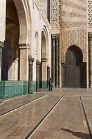 Hassan II mosque (1986-1993), Casablanca, Morocco.