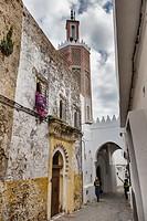 Medina, old town, Tangier, Morocco.