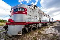 Old Railroad. Railroad Museum. Miami. Florida. USA.