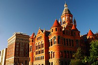 The Historic Old Red Courthouse in Dallas Texas.