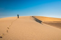 Dunes in Skeleton Coast National Park. Namibia. South Africa
