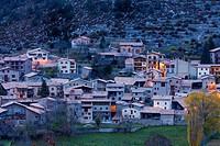 Cadi-Moixero Natural Park, Gosol Village, Alt Urgell, Lleida, Catalunya, Spain.