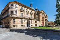 Neoclassical Palacio de Anaya (built in the 18th century), seat of the Faculty of Philosophy. Salamanca. Castilla-León, Spain