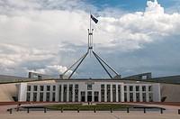 Parliament House, Capital Hill, Canberra, Australia.