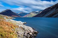 Wast Water in autumn, Lake District National Park, Cumbria, England, United Kingdom, Europe.
