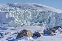 Russell Glacier, Kangerlussuaq, Artic Circle, Greenland, Europe.