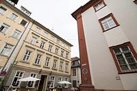 Cityscape in Heidelberg Germany on May 11, 2016.