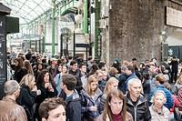 Saturdays in Borough Market,London,England.