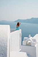 Santorini, Cyclades, Greece.