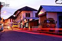 Jetty street in Fort Kochi, Kerala, India