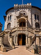 The Palace Of Justice in Monaco