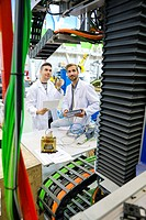 Researchers working on portable robot to drill holes into aircraft components, Industry, Research and Technology Center, Tecnalia Research & Innovatio...