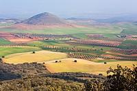 Bañuelos hill in Noez. Toledo. Castilla la Mancha. Spain. Europe.